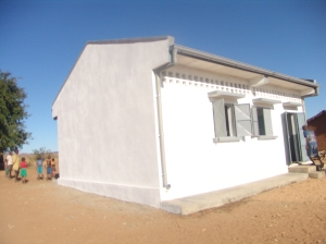 nouveau bâtiment scolaire à Iaborano