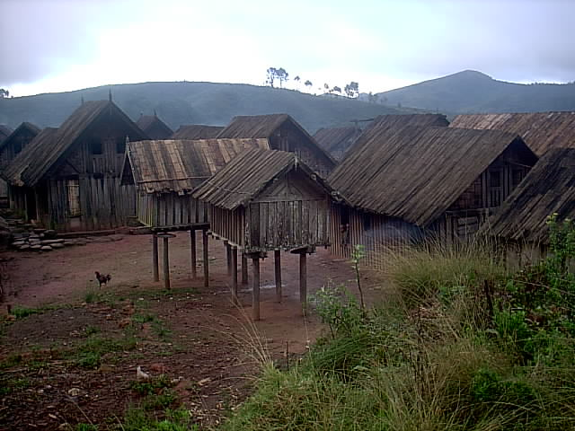 Ambositra et le paysZafimaniry