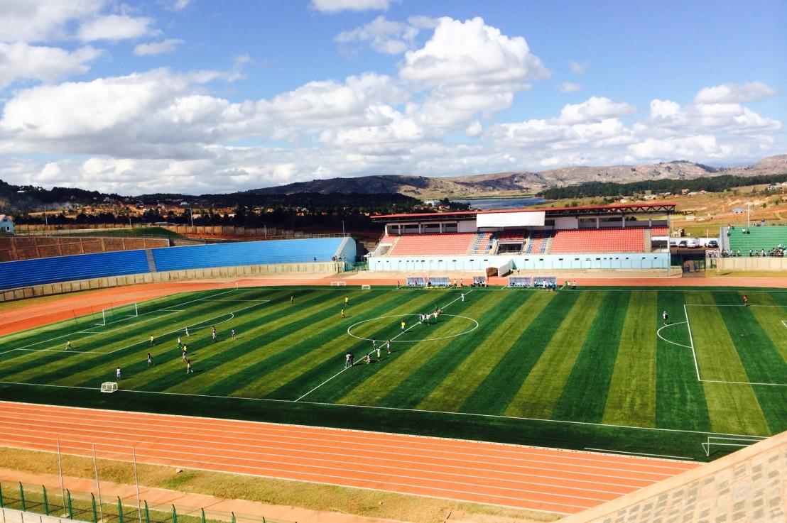 Un nouveau complexe sportif unique en son genre àMadagascar
