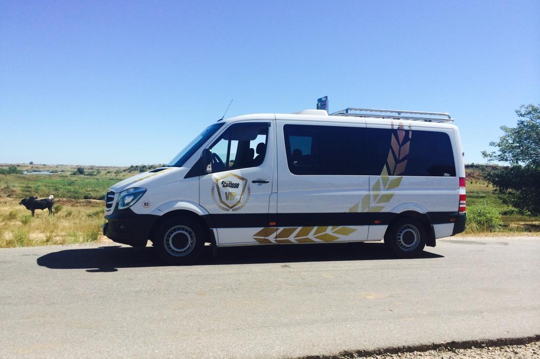 Un très bon voyage à bord d'un taxi-brousse VIP àMadagascar