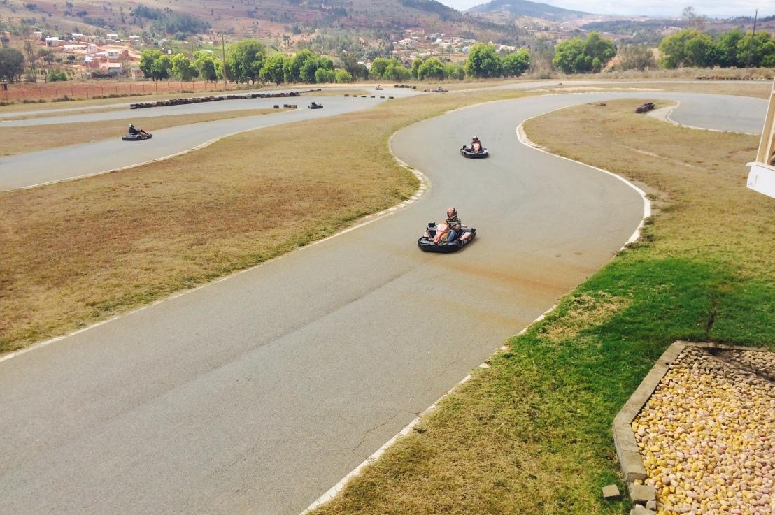 Avez-vous déjà pratiqué le Karting à Tanà?