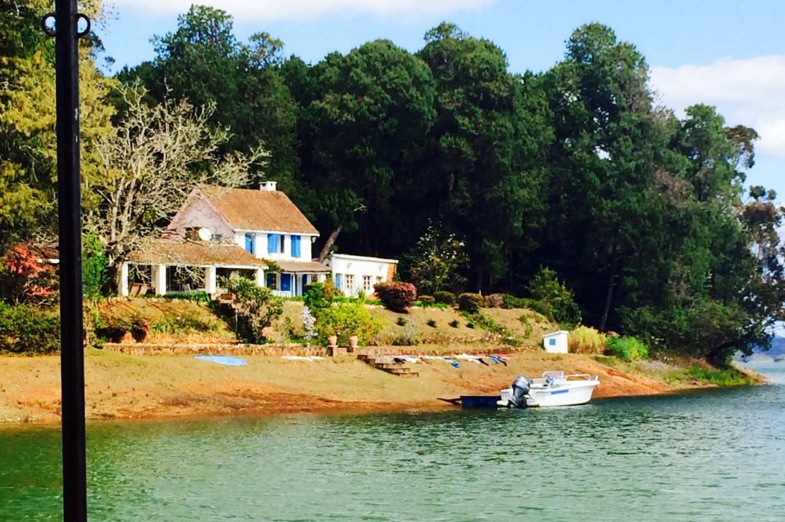 Lac Mantasoa et ses bellesvillas
