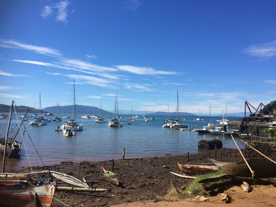 Port du cratère blog de Rasamy