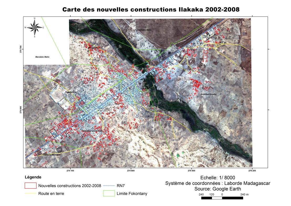 Carte nouv constr Ilakaka 2002_2008