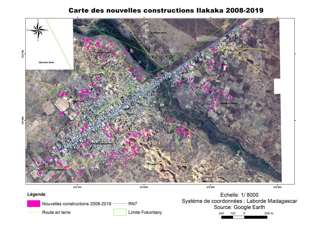 Carte nouv constr Ilakaka 2008_2019.Plein